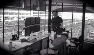 Commentating at Brands Hatch Circuit