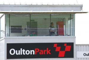 commentating at Oulton Park Circuit
